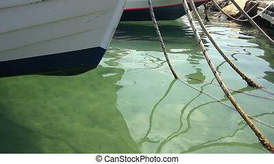 Boats at the berth