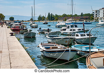 Boats at the pier