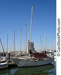 Boats in Baltimore Inner Harbor 004