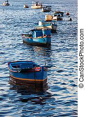 boats in bay ocean