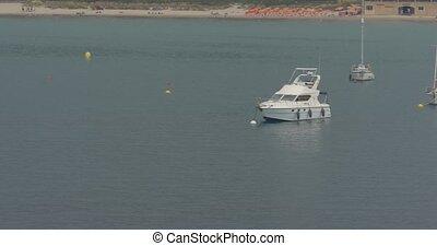 Boats in Calvi Harbor, Corsica