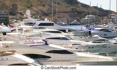Boats in the docks