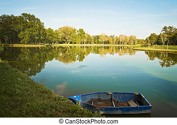 Boats in the park