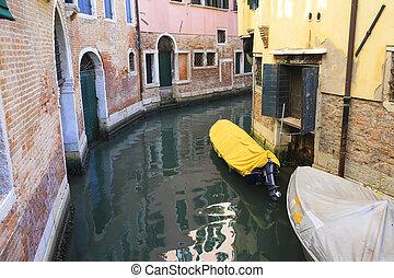 Boats in Venice, Italy