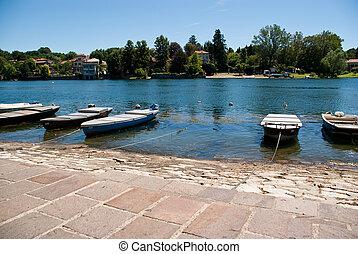 boats lake