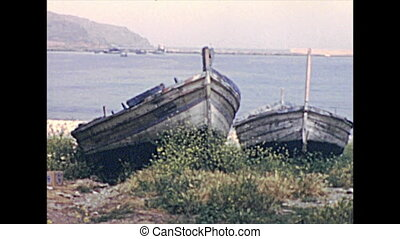 boats of Castellammare del Golfo - Traditional boats on the ...