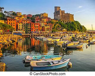 boats of Lerici