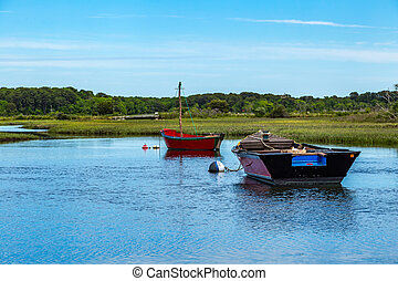Boats on Herring River