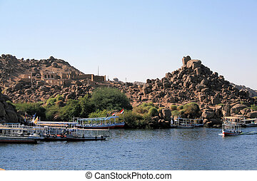 Boats on River Nile 2
