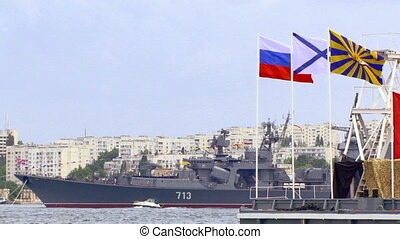 Boats - Parade of the Navy.