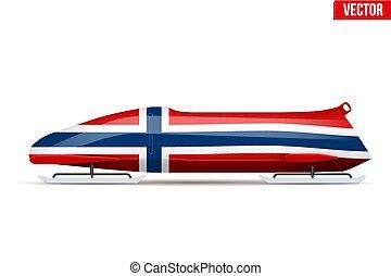 bob, norvège, bobsleigh