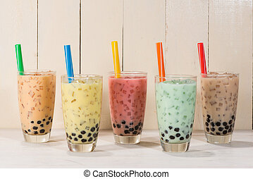 Boba / Bubble tea.