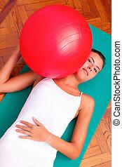 bobath, fitball, физиотерапия, мяч, exercises