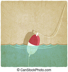 bobber fishing old background - bobber fishing background -...