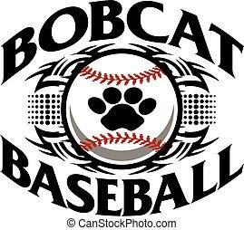 bobcat, beisball