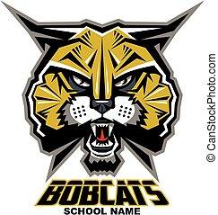 bobcats mascot head