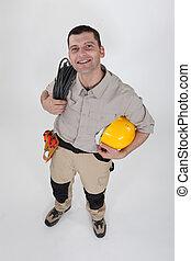 bobina, elettricista, cavo