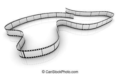 bobina film, trasparente