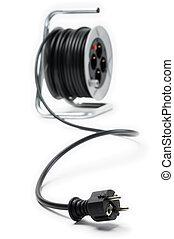 bobine, électrique, extension