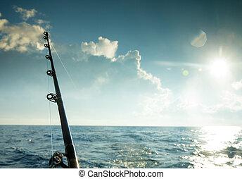 bobines, grande pêche jeu, barres
