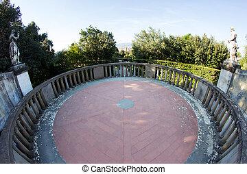 Boboli Garden in Florence, Italy