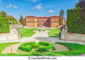 Boboli Gardens (Giardino di Boboli) in Florence - city of...