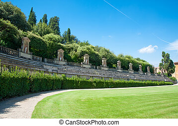 Boboli Gardens in Florence Italy