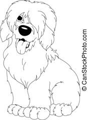 Bobtail coloring page