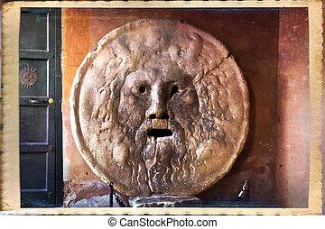 Rome - Bocca della Verita. Mouth of Truth. Rome, Italy