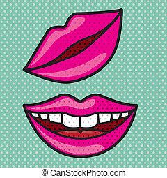 bocca, disegno