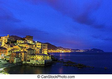 Boccadasse - old mariners' neighbourhood of the Italian city of Genoa