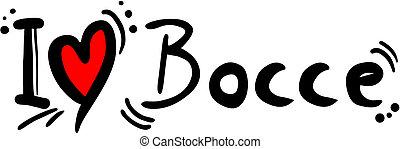 Bocce love