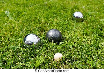 bocce, pelotas