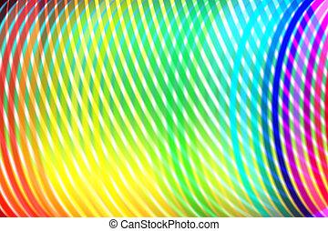 bocht, lijnen, spectrum, kleurrijke, achtergrond