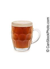 Bock Beer With Foam Top