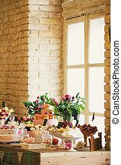 boda, banquete