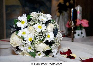 boda, flores