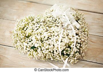 boda, floreza arreglo