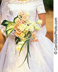 boda, mujer