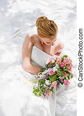 boda, -, novia