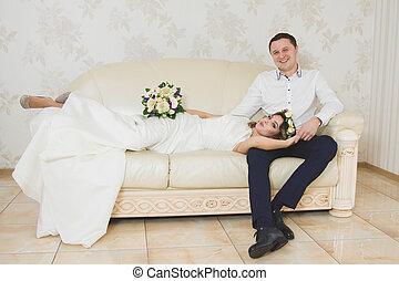 boda, novia, novio