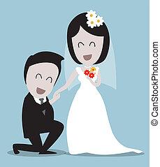 boda, parejas