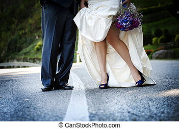 boda, pies