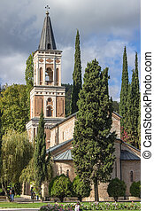 bodbe, géorgie, monastère, nino's, saint, tombe, nino
