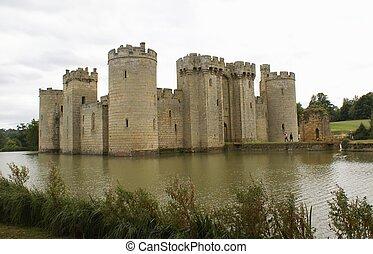 bodiam, αγγλία , κάστρο