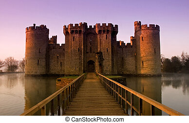Bodiam Castle - Beautiful Bodium at sun rise