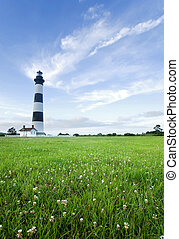 Bodie Island Lighthouse at dusk