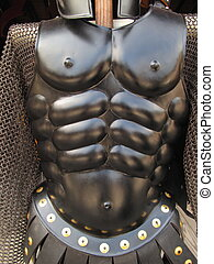 Body Armor - Streamlined suit of armor and chainmail
