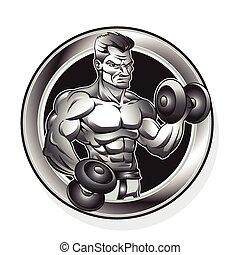 body-building, homem