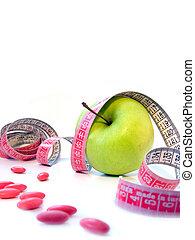 body care - health care for slim body